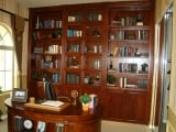Custom Built-In Office Shelving